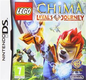 LEGO Legends Of Chima Lavals Journey Nintendo DS