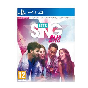 Lets Sing 2018 French Hits Bundle FR NL PS4