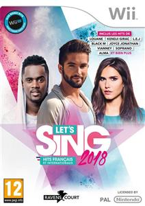 Lets Sing 2018 French Hits Bundle FR NL WiiU Wii