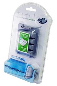 Mad Catz Wii Fit Rechargeable Battery Pack Nintendo Wii