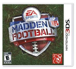 Madden Nfl Football Nintendo 3Ds