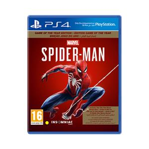 Marvels Spider Man Game Of The Year PS4