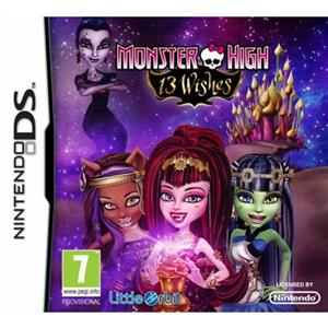 Monster High 13 Wishes Nintendo Ds