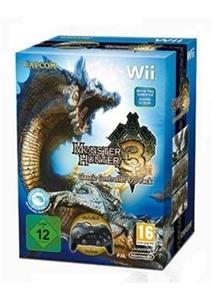 Monster Hunter 3 Classic Controller Pro Pack Nintendo Wii