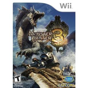 Monster Hunter 3 Tri Nintendo Wii