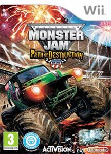 Monster Jam Path of Destruction Nintendo Wii