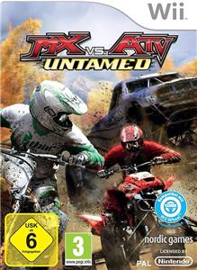 MX Vs ATV Untamed Game Nintendo Wii