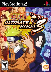 Naruto Ultimate Ninja 3 Ps2
