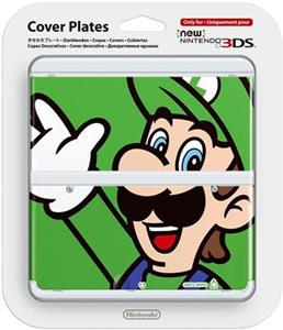 New Nintendo 3DS Coverplate Luigi