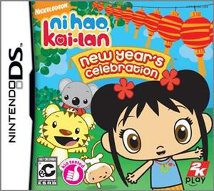 Nikelodeon Ni Hao Kai-Lan New Year's Celebration Nintendo Ds