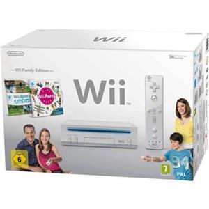 Nintendo Wii Console Family Edition