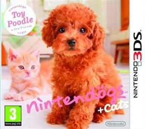 Nintendogs And Cats Toy Poodle Nintendo 3Ds