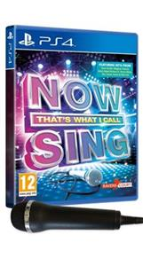 Now That's What I Call Sing Includes Microphone PS4