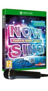 Now That's What I Call Sing Includes Microphone Xbox One