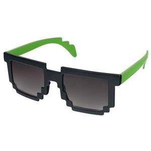 Ochelari De Soare Minecraft Groof Black And Green Pixel