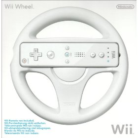 Official Wheel Nintendo Wii
