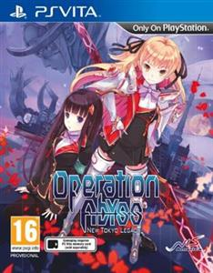 Operation Abyss New Tokyo Legacy PS Vita