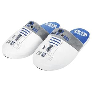 Papuci De Casa Star Wars Slippers White Large Uk 8-10