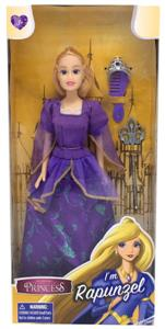 Papusa Classic Princess Doll Little Rapunzel