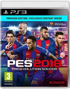 PES 2018 Pro Evolution Soccer PS3