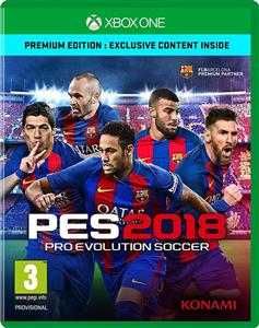PES 2018 Pro Evolution Soccer Xbox One