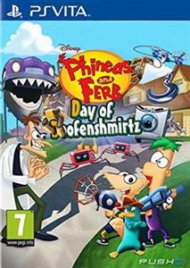 Phineas & Ferb Day of Doofensmirtz PS Vita