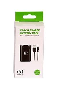 Play and Charge Battery Pack with 3M Cable Power Up Xbox360