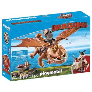 Playmobil - Dragons Fishlegs and Meatlug Playset
