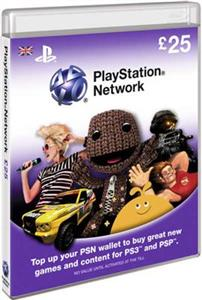 PlayStation Network Card 25 Lire