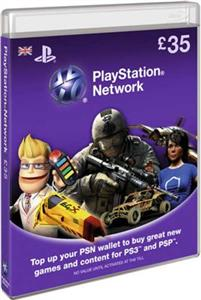 PlayStation Network Card 35 Lire