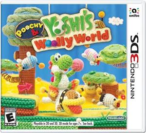 Poochy and Yoshi's Wooly World Nintendo 3DS