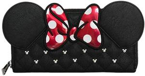 Portofel Gaming Loungefly Minnie Bow Zip Around Wallet