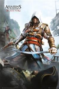 Poster Assassins Creed 4 Black Flag 61 x 91.5 cm