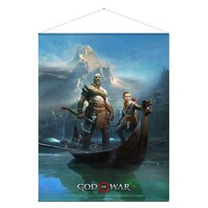 Poster God Of War Father And Son Wallscroll Poster