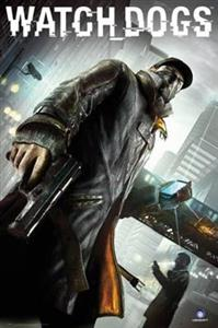 Poster Watch Dogs Cover 61 x 91.5 cm