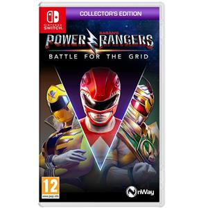 Power Rangers Battle For The Grid Collector's Edition Switch
