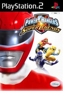 Power Rangers Super Legends Ps2