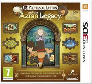 Professor Layton And The Azran Legacy Nintendo 3Ds