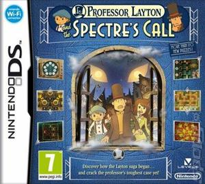 Professor Layton And The Spectre's Call Nintendo Ds