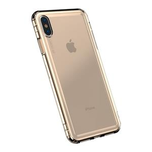 Przezroczyste Etui Baseus Safety Airbags Case Do Iphone Xs Max (Złote)