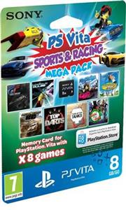 Racing Mega Pack on 8GB Memory Card PS Vita