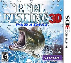 Reel Fishing Paradise Nintendo 3Ds