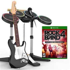Rock Band 4 Band In A Box Software Bundle Xbox One