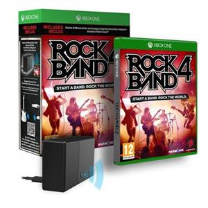 Rock Band 4 with Adapter Xbox One