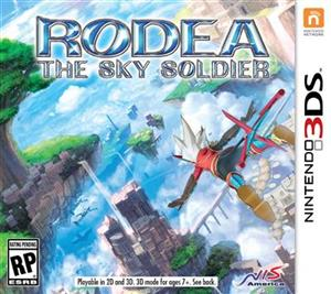 Rodea The Sky Soldier Nintendo 3DS
