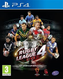 Rugby League Live 4 World Cup Edition PS4