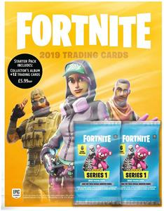 Set Carti Fortnite Trading Card Collection Starter Pack