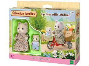 Set De Jucarii Sylvanian Families Cycling With Mother