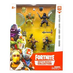 Set Figurine Fortnite Battle Royale Collection Mini Figure Squad Pack