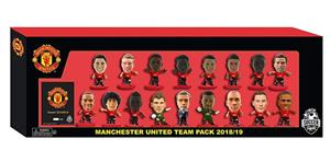 Set Figurine Soccerstarz Man Utd Team Pack 17 Players